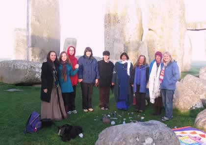 Revisiting the Sacred Stones in England Retreat, 2009